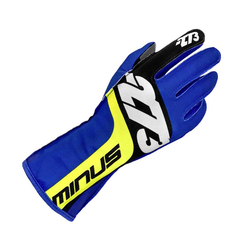SNAP Blue/Black/Fluo Yellow GLOVE
