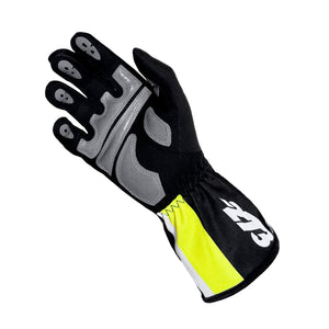 SNAP Black/White/Fluo Yellow GLOVE