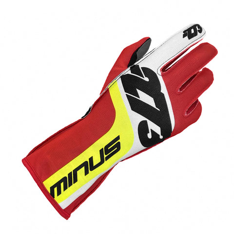 SNAP Red/White/Fluo Yellow GLOVE