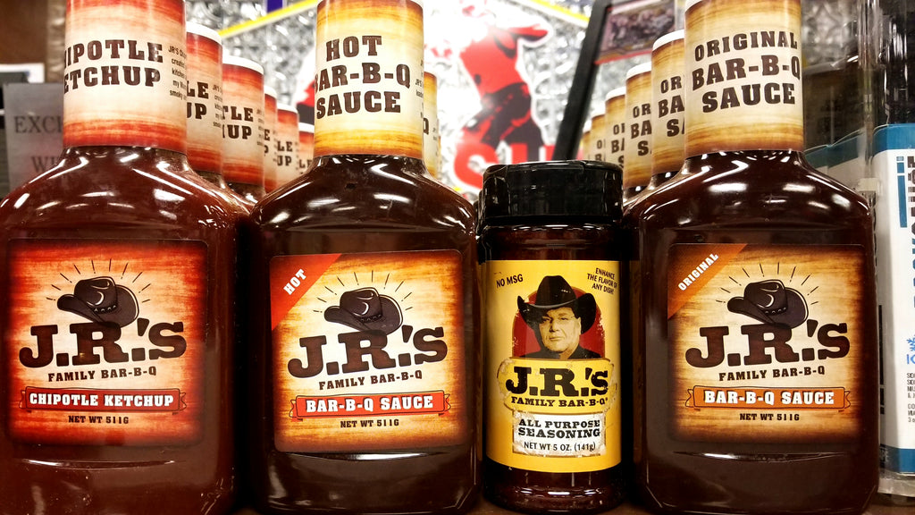 JR's BBQ Sauces & Seasoning!