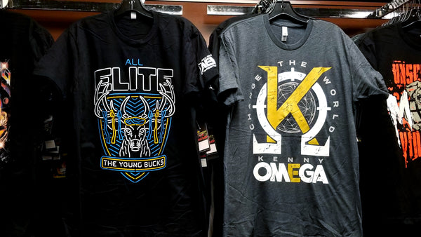New AEW Tees!!