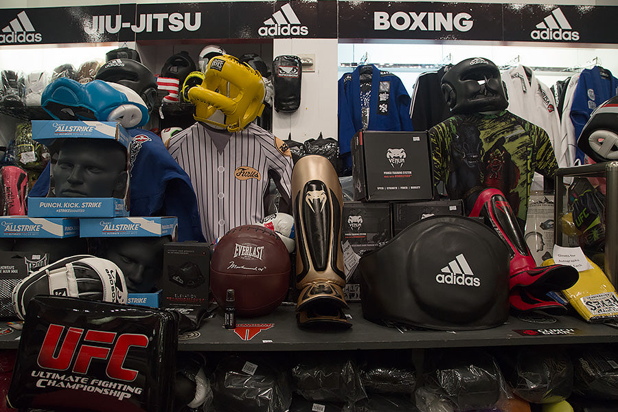 MMA and Boxing Equipment