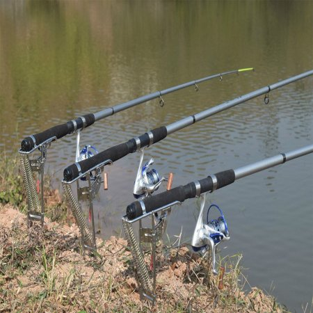 Automatic Double Spring Fishing Rod Holder