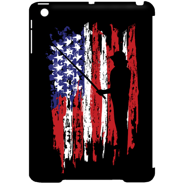 Fisherman US Flag iPad cases