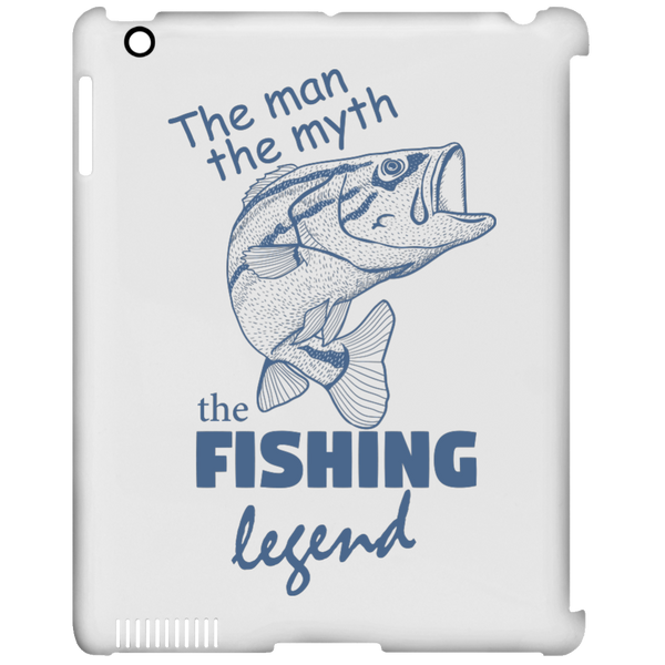 The man the myth the fishing legend iPad cases