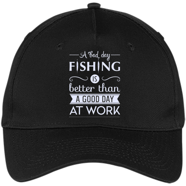 A Bad Day Fishing Cap