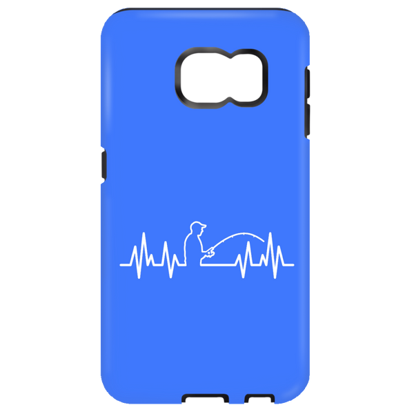 Fisherman Heartbeat Samsung cases