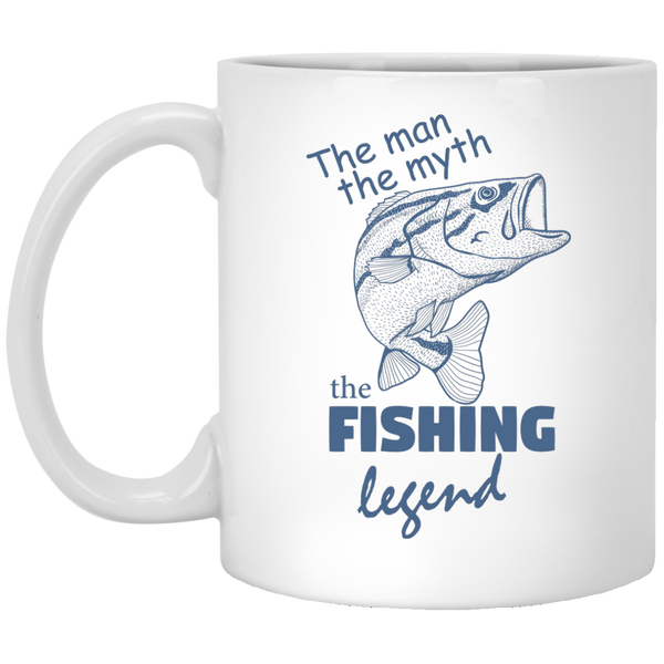 The man the myth the fishing legend Mugs
