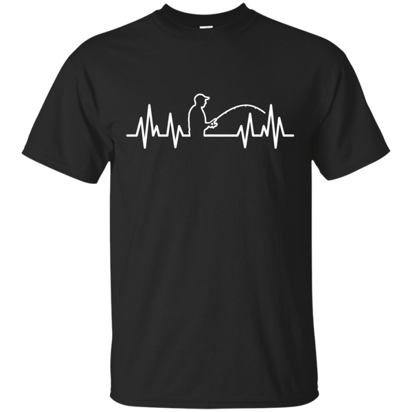 Fisherman Heartbeat Shirt
