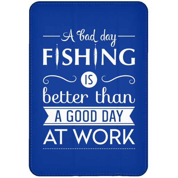 A Bad Day Fishing iPad Cases White Edition