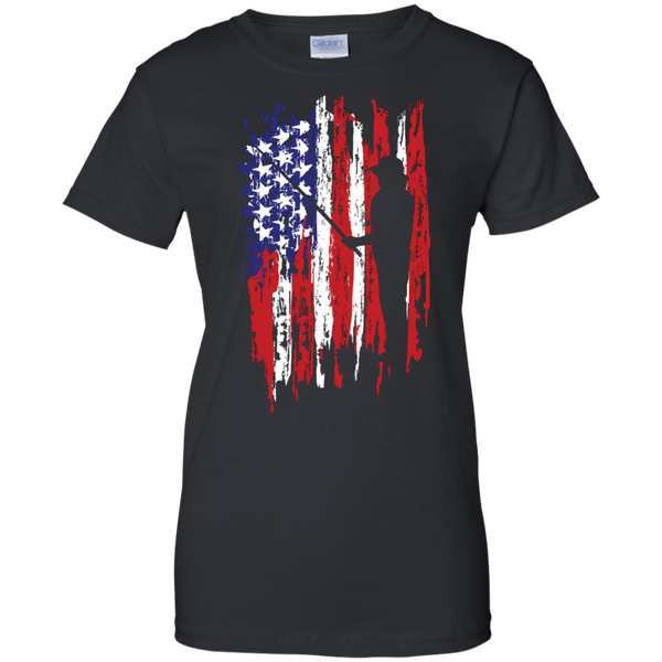 Fisherman US Flag Shirts