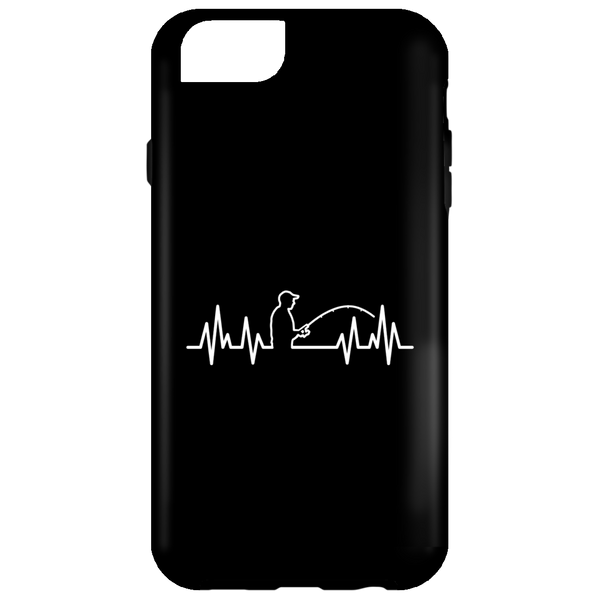 Fisherman Heartbeat iPhone Cases
