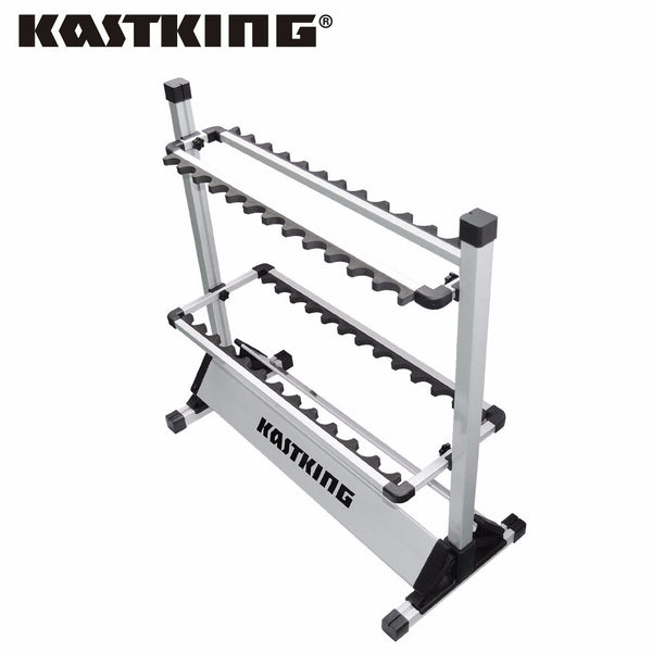 KastKing Portable Aluminum Fishing Rod Rack
