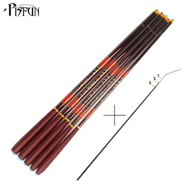 Pisfun Ultra Light Carp Fishing Pole