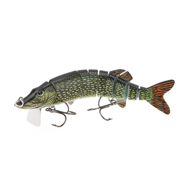 "Lixada 5"" 9-Segement Pike Lure"