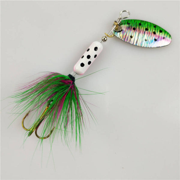 Stylish Spoon Metal Wobble Lure