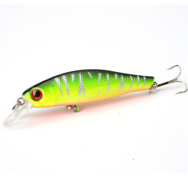 CAMTOA 1 pack of 6 colorful fishing lures