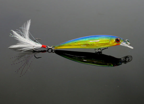 Beautiful Minnow Wobbler Fishing Lure Collection