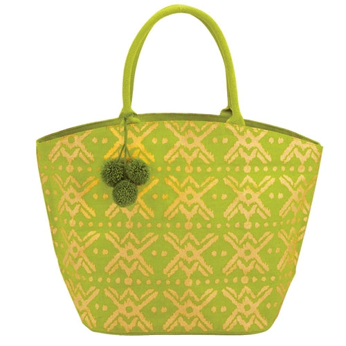 Shimmer Juco Tote