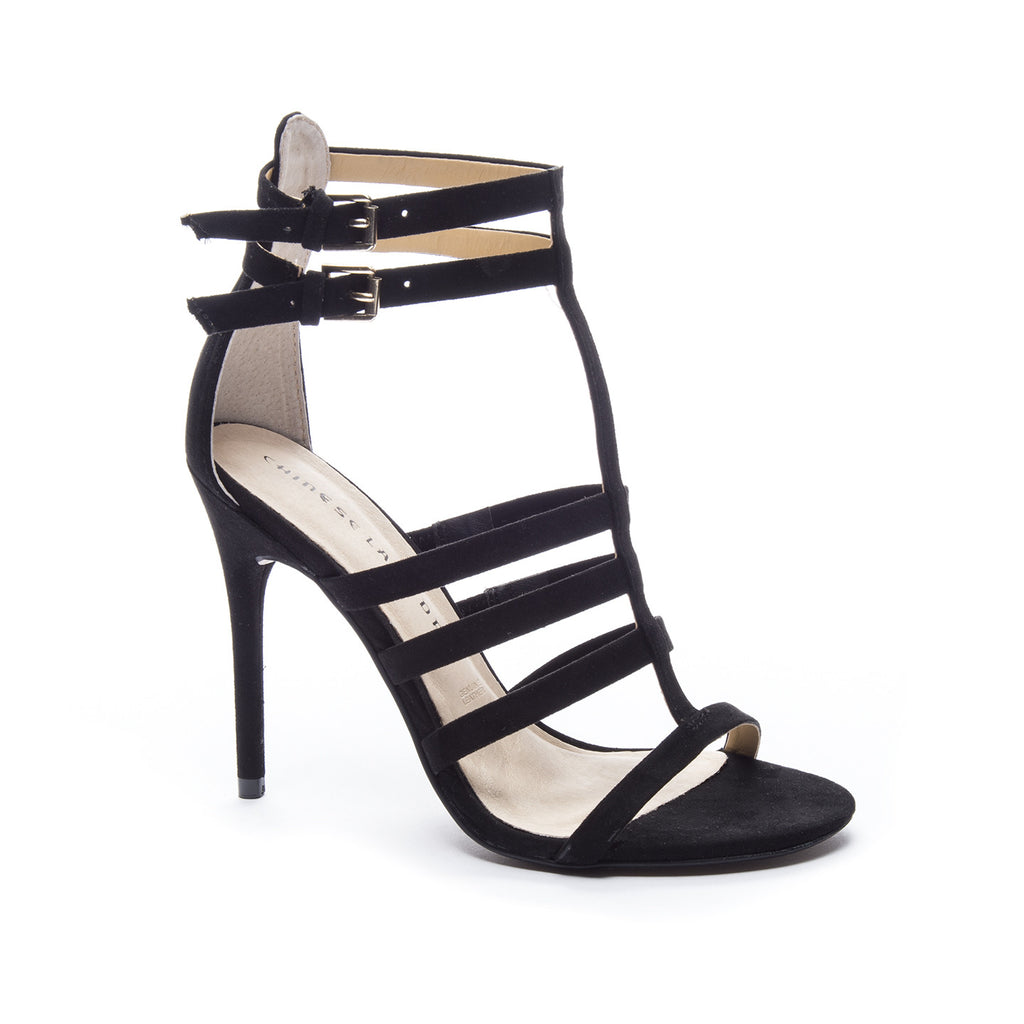 Lacy Micro Suede Stiletto