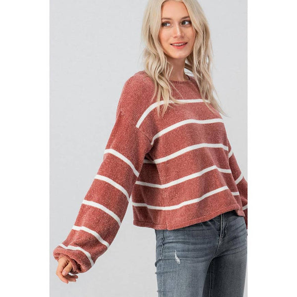 Spicy Chenille Sweater