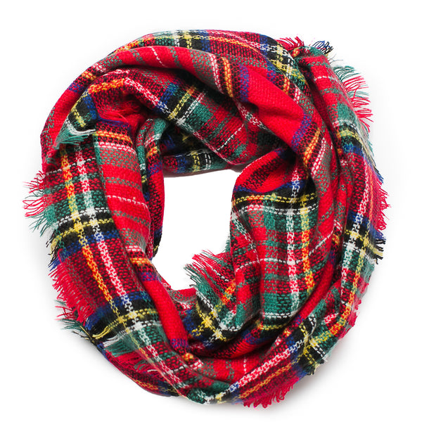 Mad For Plaid Infinity Scarf
