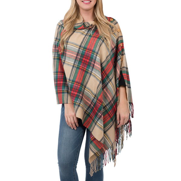 Mad For Plaid 3 in 1 Poncho