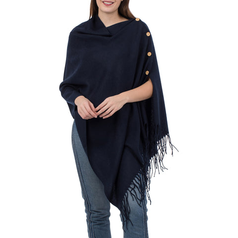 Navy 3 in 1 Poncho