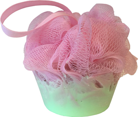 Strawberry Mint Cupcake Soap