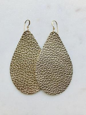 Tenfold Metallic Earring