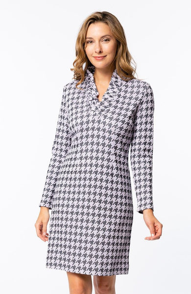 Houndstooth Constance Dress