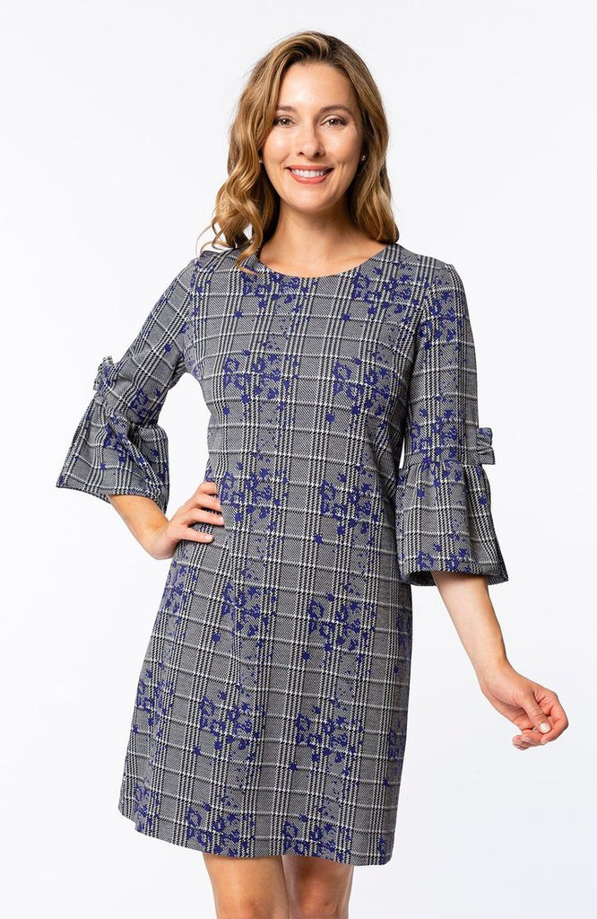 Robin Ruffle Sleeve Dress