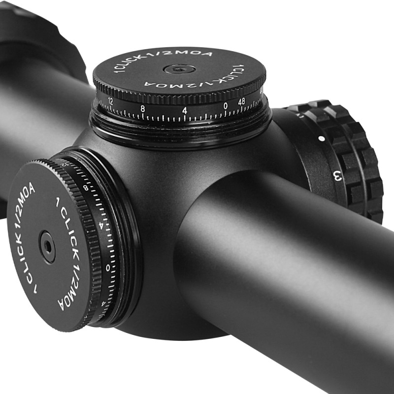 Backordered -Blackhound Optics Genesis 1-6×24 SFP MOA