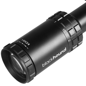 Blackhound Optics Genesis 1-6×24 SFP MOA