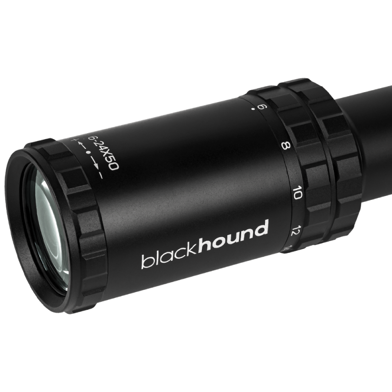 Blackhound Optics 6-24×50 FFP MOA