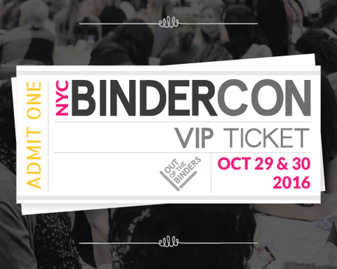 BinderCon VIP Ticket