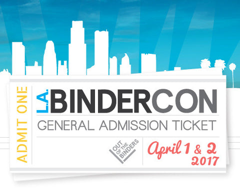 BinderCon LA 2017 Last-Minute Ticket