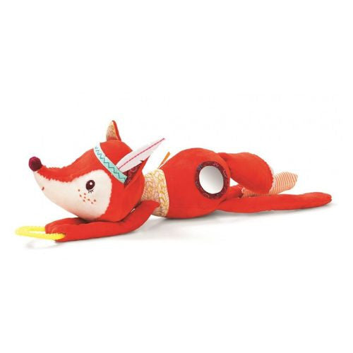 Alice Activity Fox - Stuffed Animal with Baby Pacifier