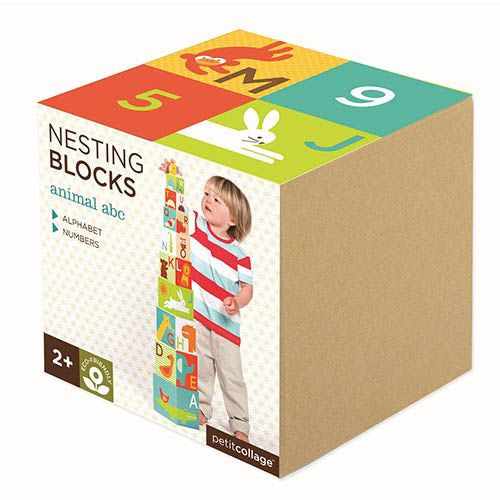 Animal ABC Stacking Blocks