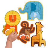 Safari Friends Baby Jigsaw Puzzle