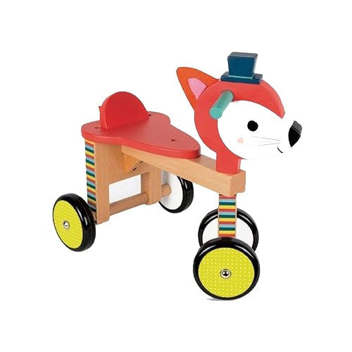 Wooden Fox Riding Toy