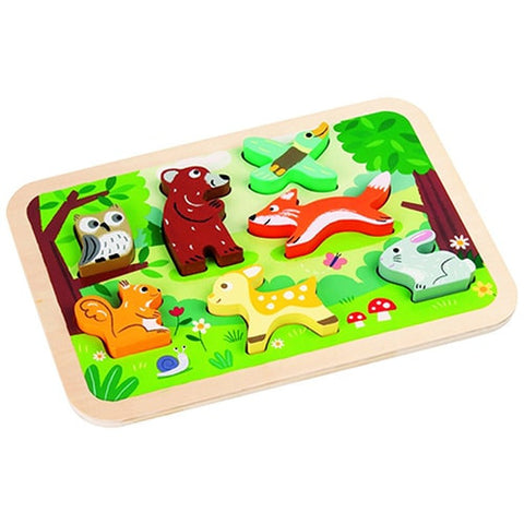 Duck's Family Wooden Puzzle