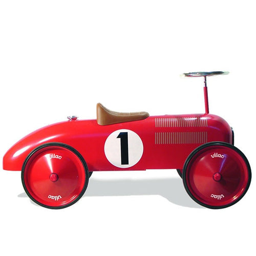 Classic Red Racing Car