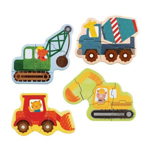 Little Animal Builders Baby Jigsaw Puzzle