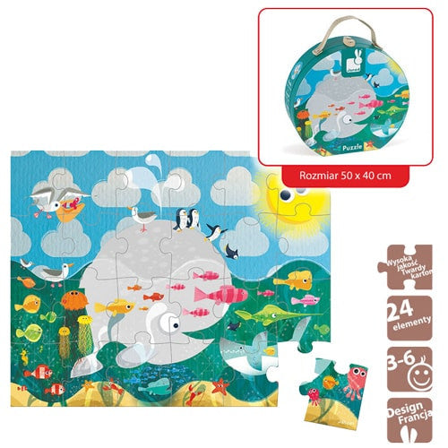 The Amazing Ocean World Jigsaw Puzzle