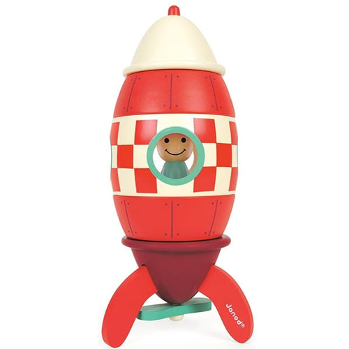 The Amazing Wooden Rocket Ship Toy