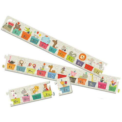 Alphabet Train Jigsaw Puzzle