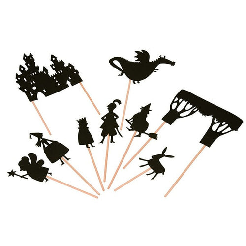 Classic Fairy Tale Shadow Puppets