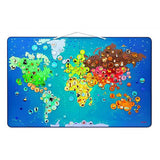 Great Magnetic World Map Puzzle