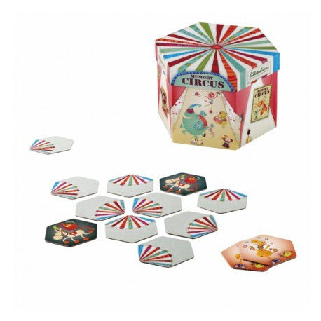 The Fantastic Circus Educational Memory Game